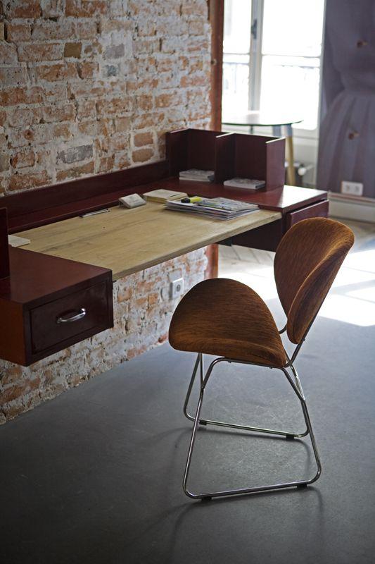 Wall-mount desk