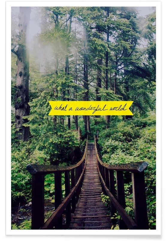 What a Wonderful World - Leah Flores - Premium Poster