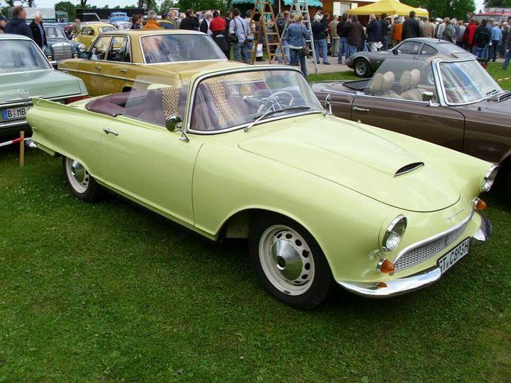 Small German sportscars. Auto Union 1000 SP Roadster.