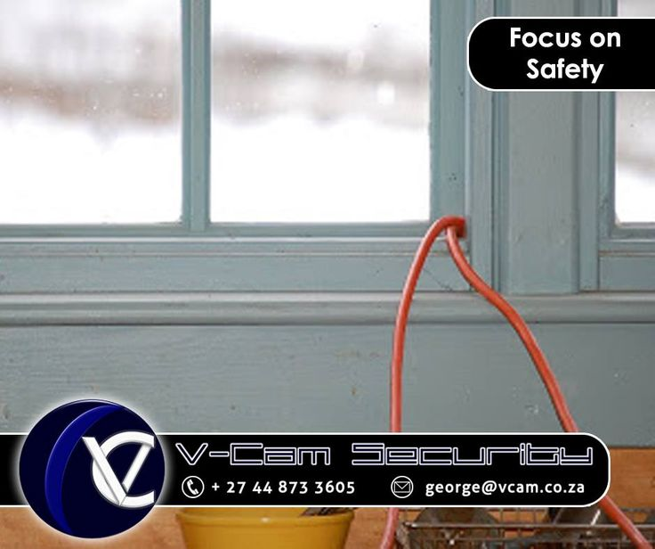 #Holiday #SecurityTip: Do not run extension cords for holiday lights through windows. Running extension cords through windows means that window cannot close and latch completely. This makes the window an easy entry point for burglars. #vcam #cctv