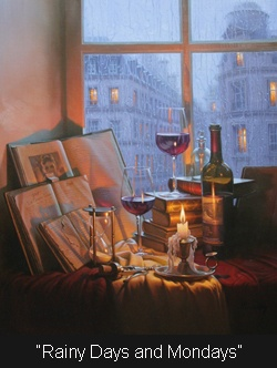 Alexei Butirskiy...Rainy Days and Mondays.<3: Russian Artists, Butirskiy Rainy, Butirskiy Russian, Fine Art, Beauty Winter, Alexei Butirskiyraini, Rainy Days, Winter Artworks, Rainy Day And Mondays