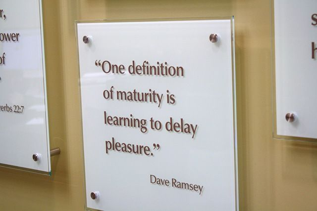 A definition of maturity
