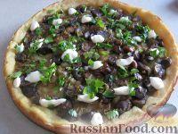 Фото к рецепту: Картофельный пирог с грибами