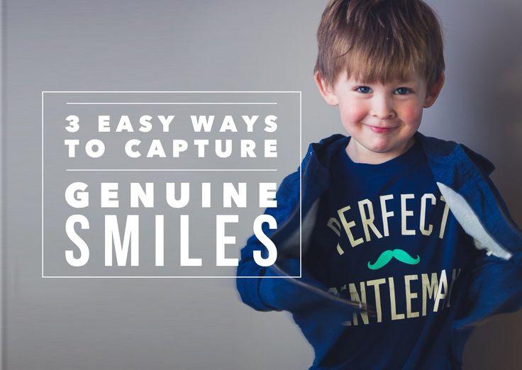 3 Easy Ways To Capture Genuine Smiles