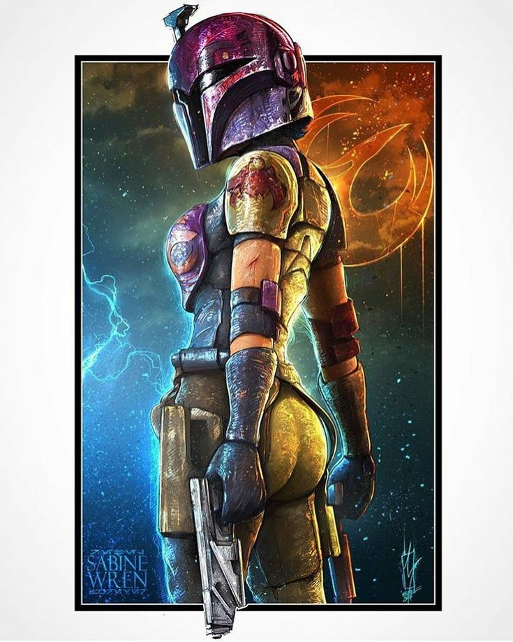 Sabine Wren from Star Wars Rebels