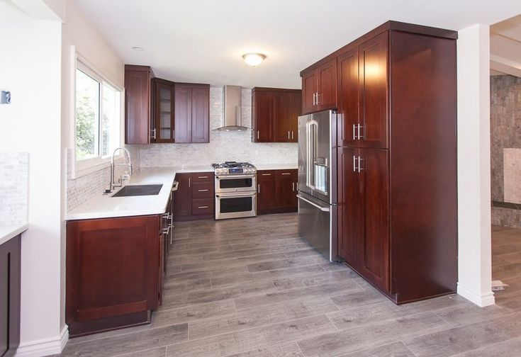 Best Image Result For Cherry Cabinets With Grey Floors Cherry 400 x 300