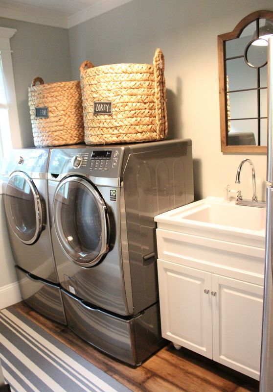 Laundry room | Smelly Laundry? | Washer Odor? | http://WasherFan.com | Permanently Eliminate or Prevent Washer & Laundry Odor with Washer Fan™ Breeze™ | #Laundry #WasherOdor #SWS