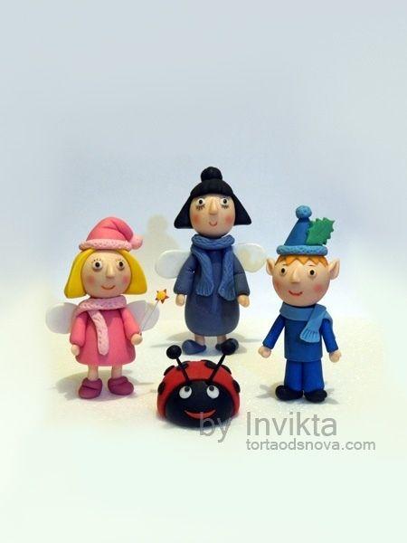Ben And Hollys Little Kingdom Figures cakepins.com