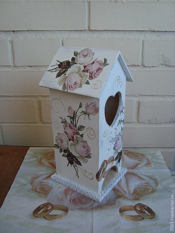 """Чайный домик """"Нежные розы"""". Handmade."""