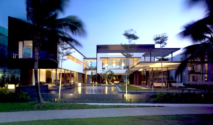 modern tropical homes - Google Search