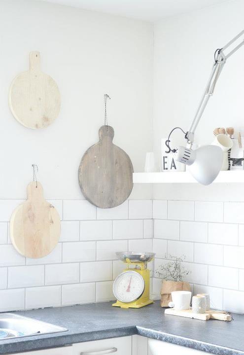 #Scandinavian #kitchen @Kelly Teske Goldsworthy Borchers doesn't this look lovely?