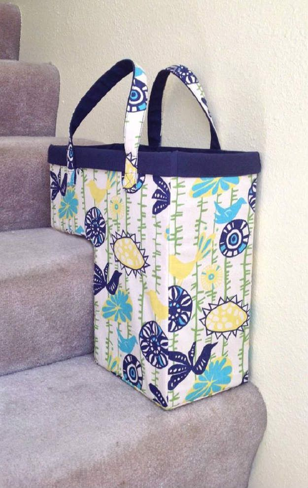 One Trip Up The Stairs Basket Home Decor Sewing Projects That Will Make Your House A Diyhomedecorsewing