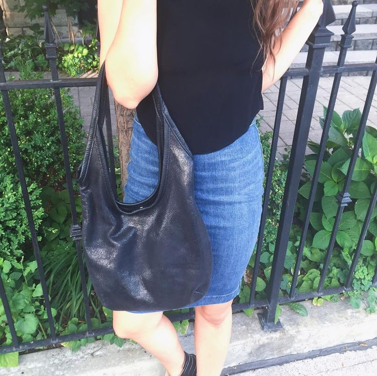 Sling bags are made even better by metallics