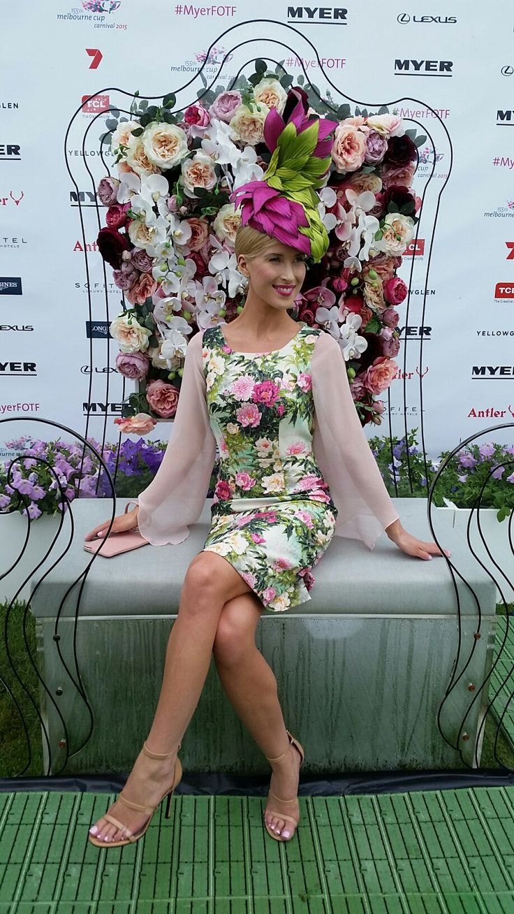 Crown Oaks Day Millinery Awards milliner Sandy Aslett