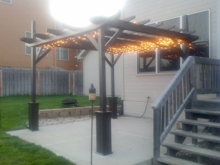 Pergola Project Do It Yourself Home Projects From Ana