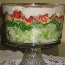 seven layer salad - Google Search