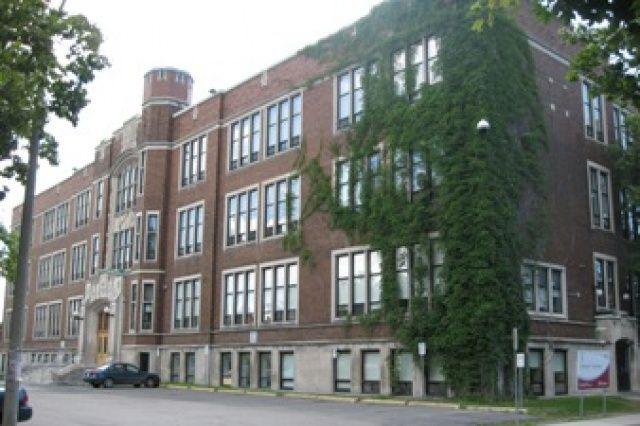 Glebe Collegiate Institute - a beautiful building and prestigious school