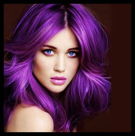 and purple hair styles the new hair color trends for fall 2014 2015 hairstyle 8184
