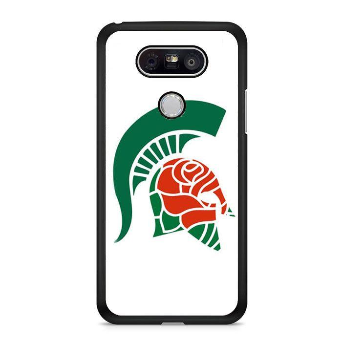 Michigan Spartan Roses LG G6 Case Dewantary