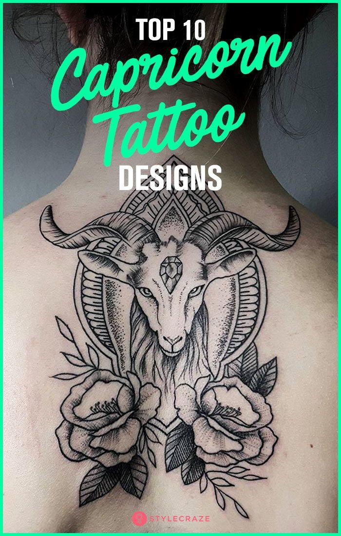 Top 10 Capricorn Tattoo Designs Capricorn Tattoo Tattoo Designs Tattoos