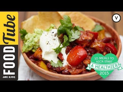 Vegetable Chilli | Vegetables Recipes | Jamie Oliver Recipes