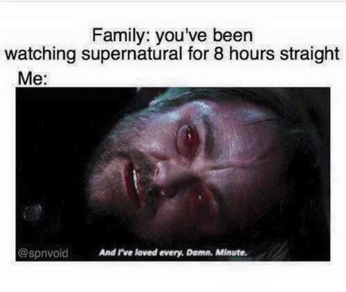 Supernatural fandom                                                                                                                                                                                 More