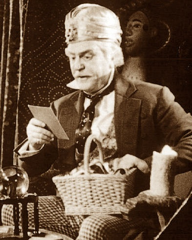 Professor Marvel - Wizard of Oz.  The shabby coat that Frank Morgan's Professor Marvel/The Wiz wore was a thrift store find. It was discovered later that it used to belong to Oz author, L. Frank Baum (his name was sewn into the garment). Baum's widow and tailor confirmed the find.