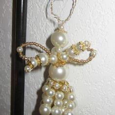 Petit ange en perle