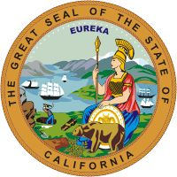 California has the coolest seal i think! It's got a goddess on it! :D