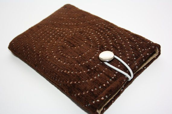 Simple Brown sleeve for  iPad mini case iPad cover door TASAMA