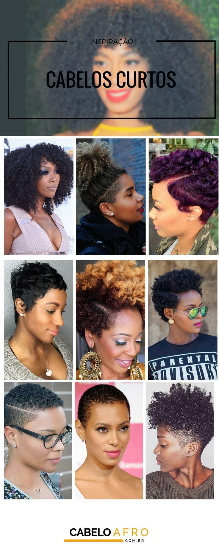 Cabelos curtos: Cortes femininos para cabelos afros que vão bombar em 2017!
