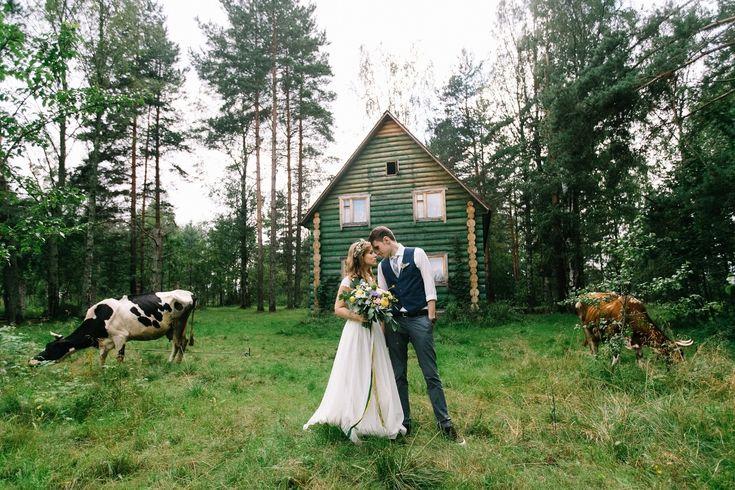 country wedding свадьба в деревне
