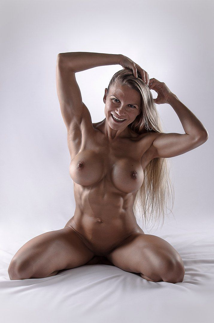 Fitness hot models naked female