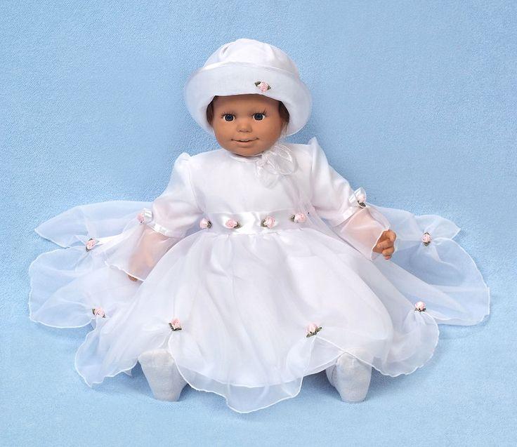 Vestito bianco battesimo torta