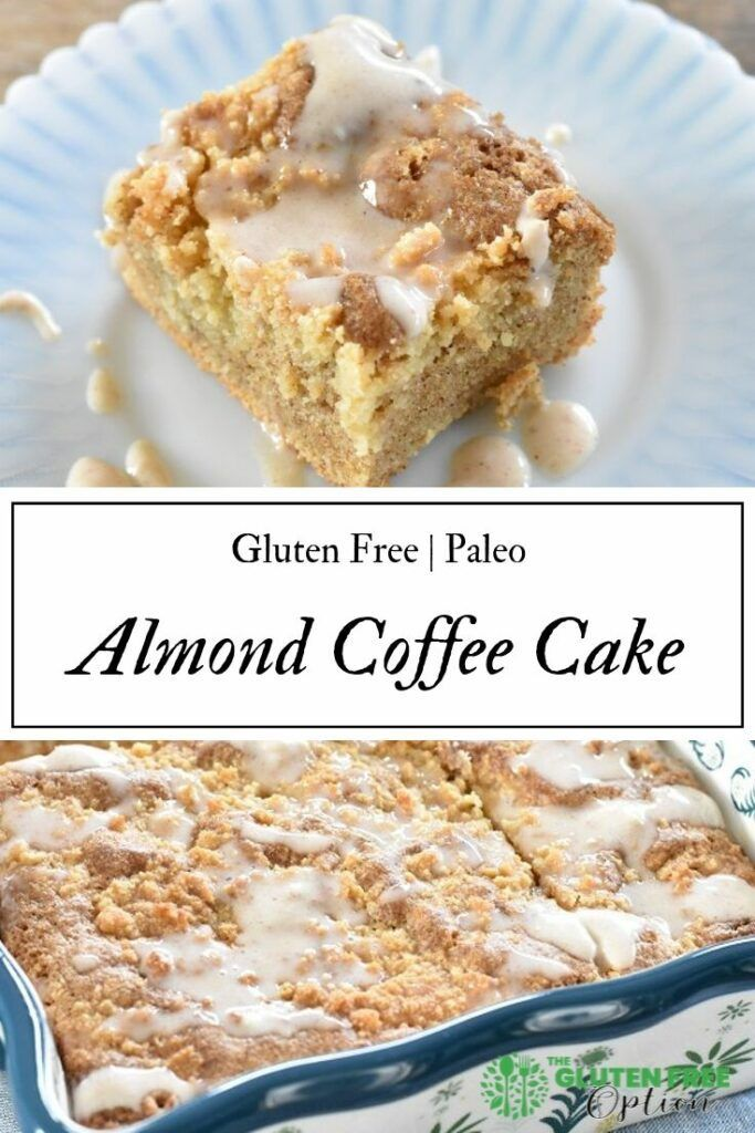 Almond   Paleo Coffee Cake | Enjoy a healthy treat for breakfast any day of the week |   Gluten Free Coffee Cake | Easy Gluten Free Breakfast | Visit ...