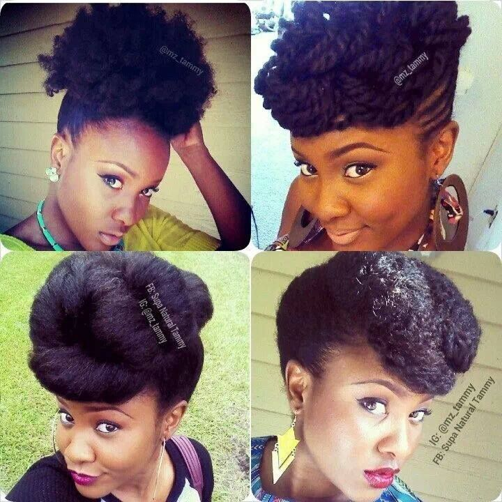 Terrific 1000 Images About Natural Hair And Braids Updos On Pinterest Short Hairstyles Gunalazisus