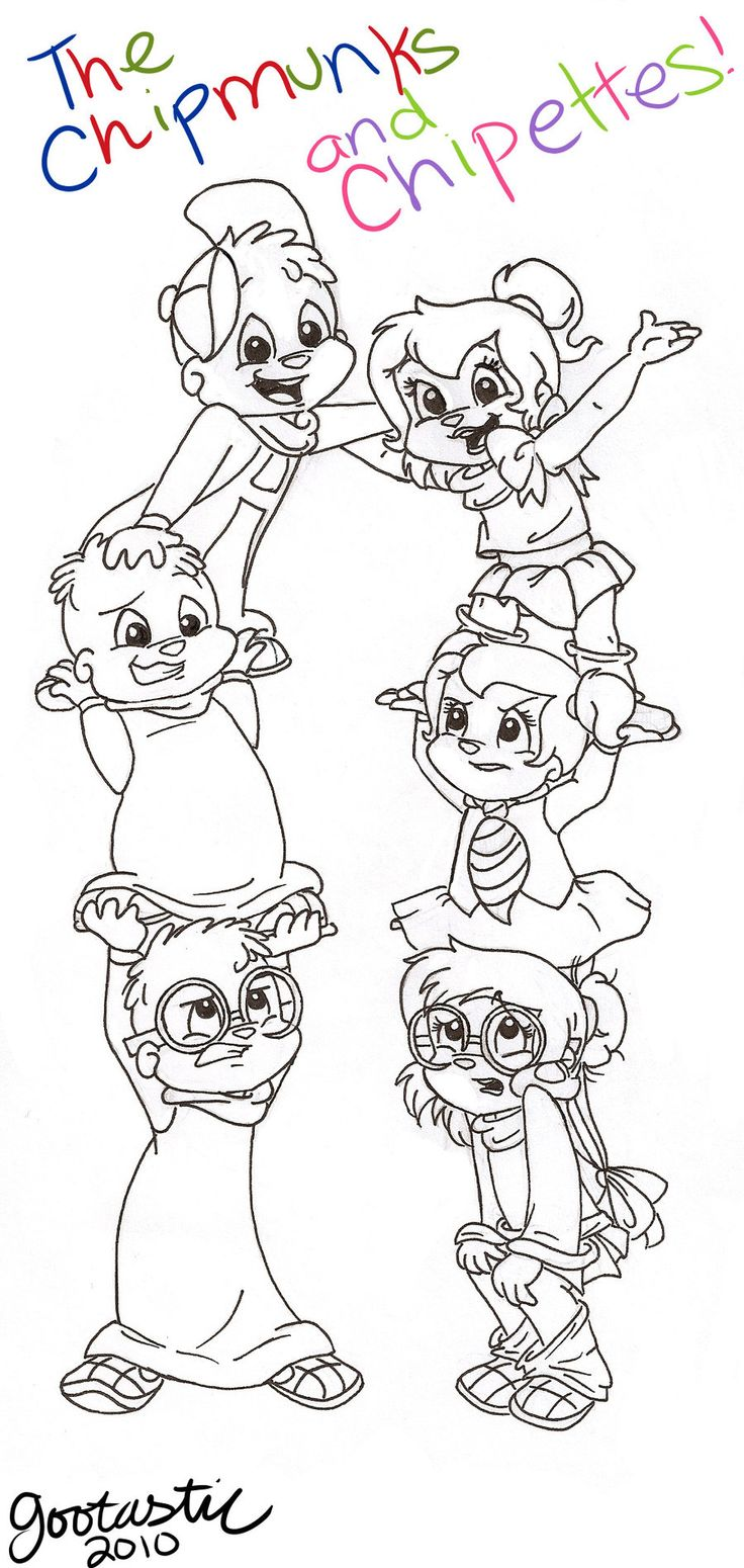 154 best We'er the Chipmunks