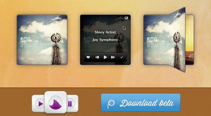 Shiny Groove, aplicación para Mac OS X para reproducir la música de Grooveshark