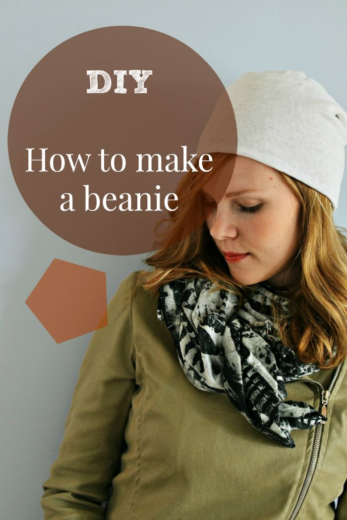 WEEKEND CHIC: HOW TO SEW A BEANIE