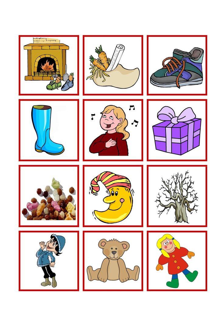 * Sint memory: plaatjes en woorden! 2-4