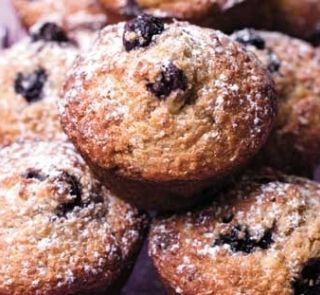 HFG blueberry muffins. Have made many times, always a winner