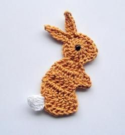 crochet bunny  Hmmmm... There is a pattern on this page that could work for what I want but I would need it bigger.
