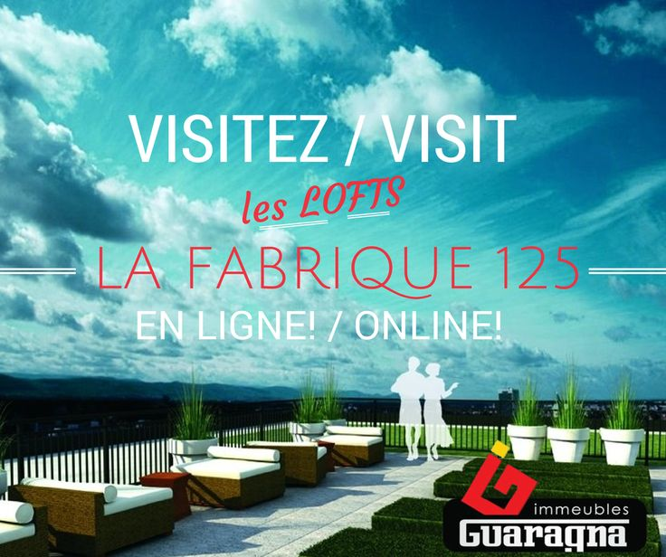 Plongez-vous dans l'ambiance de #LaFabrique125 et visitez tous les coins de notre unité modèle #219, grâce à la nouvelle fonction de visite virtuelle d'Accès Condo.  Votre visite virtuelle commence ici! >> http://ow.ly/ypeZ8