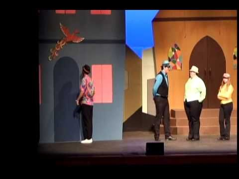 Patty Gallagher at the The Comedy of Errors dress rehearsal