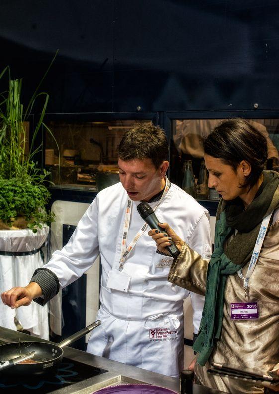 Eccomi che presento Ivan Justa al Merano wine festival