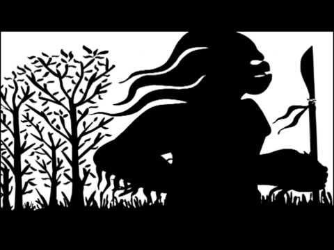 EL CUENTO DE AMINALAKE: sombras chinescas de la Compañía Tarambana, con ilustraciones de Francisco Javier Martínez
