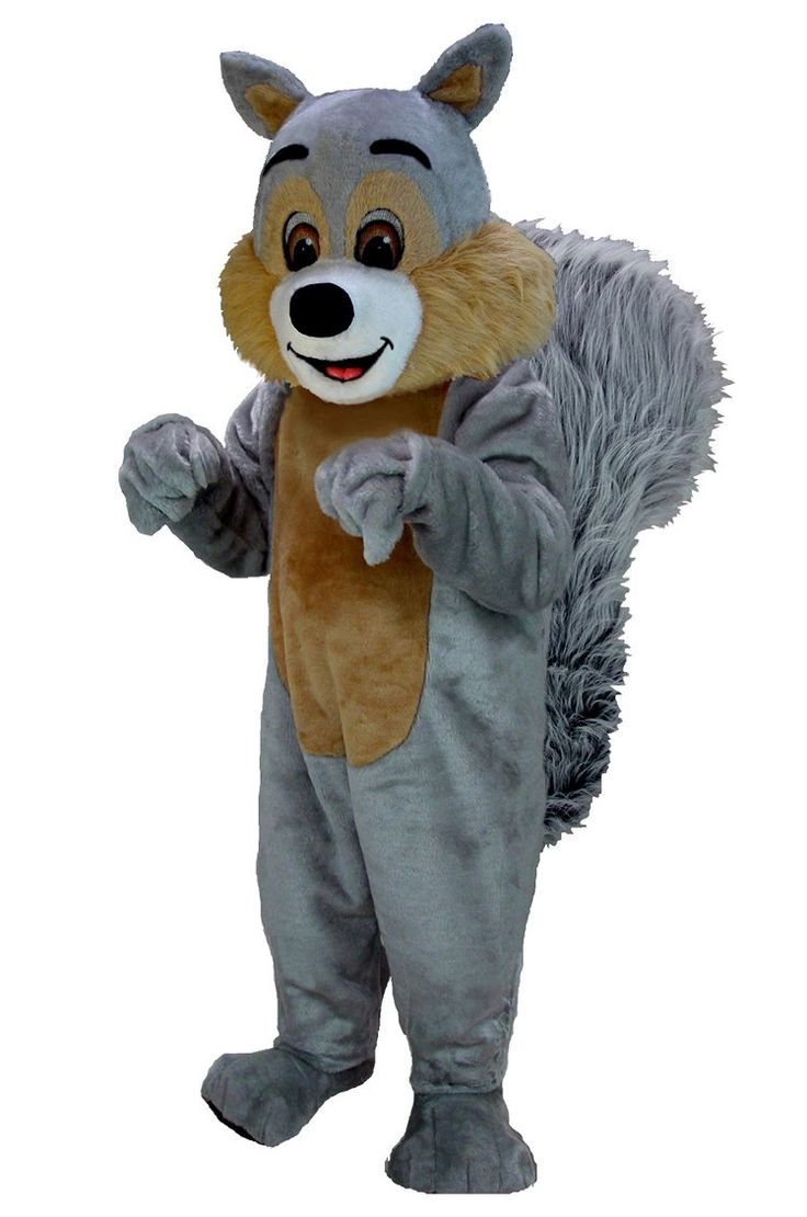Buy Squirrel Mascot Costume T0113 Mask US from Costume-shop.com