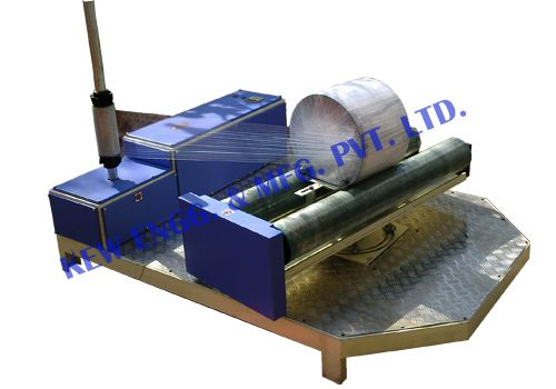 We are dealing on manufacturing Roll Wrapping Machine. We are a leading #manufacturer and exporter of #Roll #Wrapping #Machine Our machines are designed with wide range of quality for long lasting heavy duty process, specially for cutting in different sizes from 12 mm to 1000 mm. Types of Roll Wrapping, Stretch Wrapping, Carton, Water Tank, Cloth Roll, Nylon Roll etc.