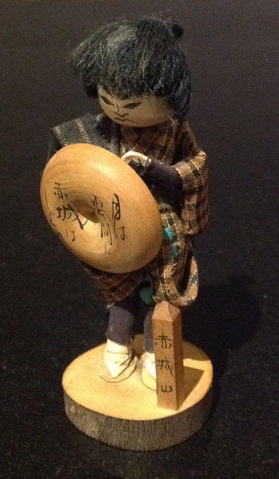 SALE 15% OFF  Rare Vintage Japanese Warrior Doll by ComicKamikaze