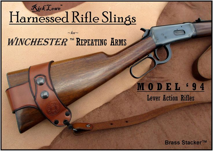 Harnessed Rifle Sling for Winchester Lever Action Rifles